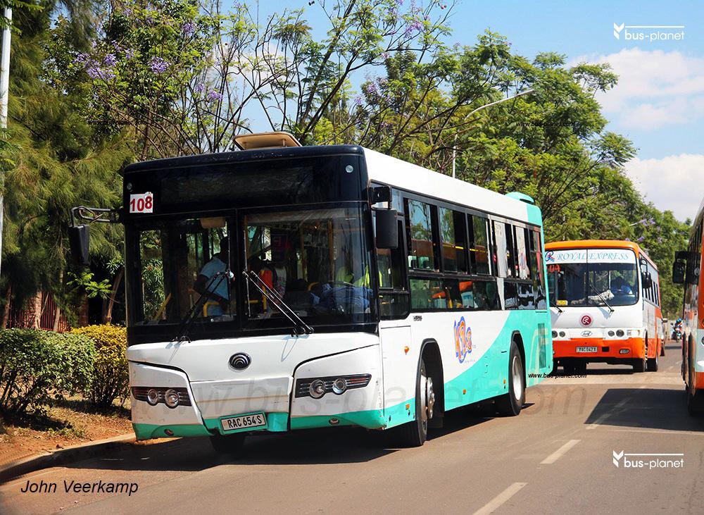 Kigali, Yutong ZK6108HGC # RAC 654S
