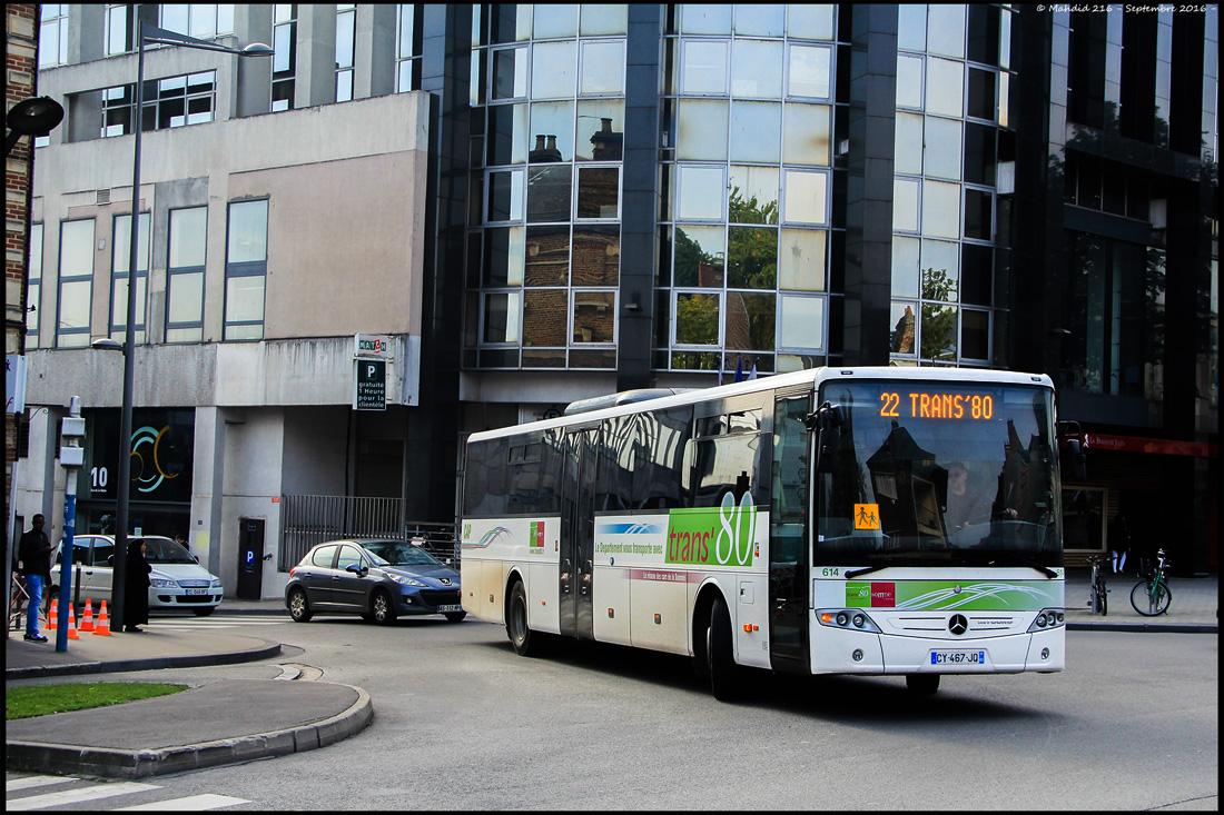 Amiens, Mercedes-Benz O560 Intouro II # 614
