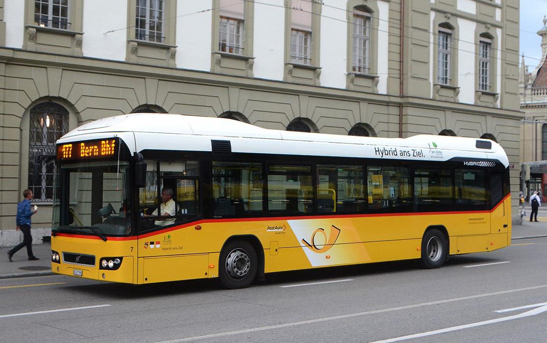 Bern, Volvo 7700 Hybrid # 7