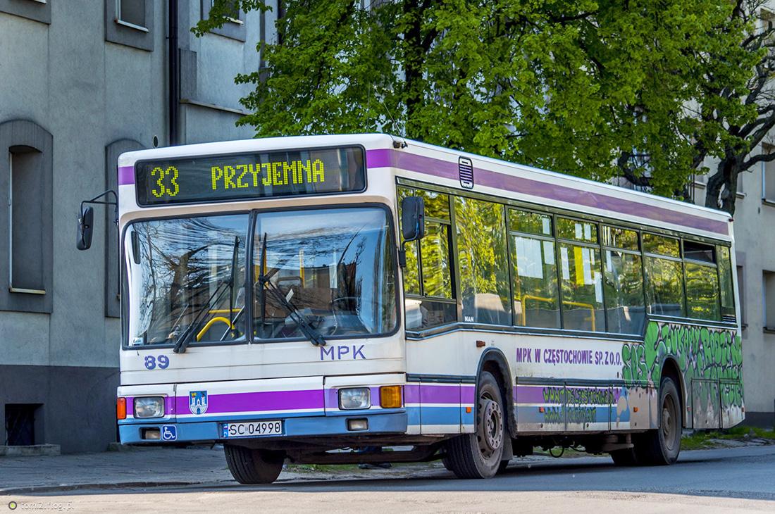 Częstochowa, MAN A10 NL222 # 89