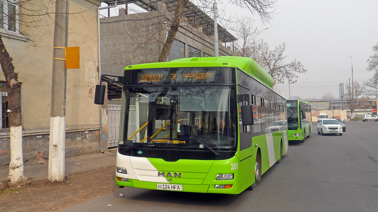 Tashkent, MAN A22 Lion's City NL313F CNG (Uzbekistan) # 289