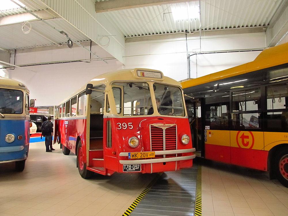 Warsaw, Chausson AH 48 # 395; Warsaw — Międzynarodowe Targi Transportu, Spedycji i Logistyki 2018