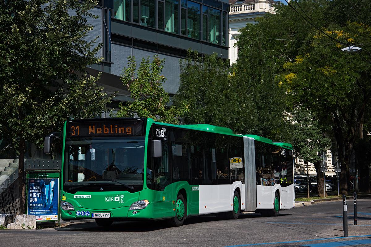 Graz, Mercedes-Benz Citaro C2 G # 20