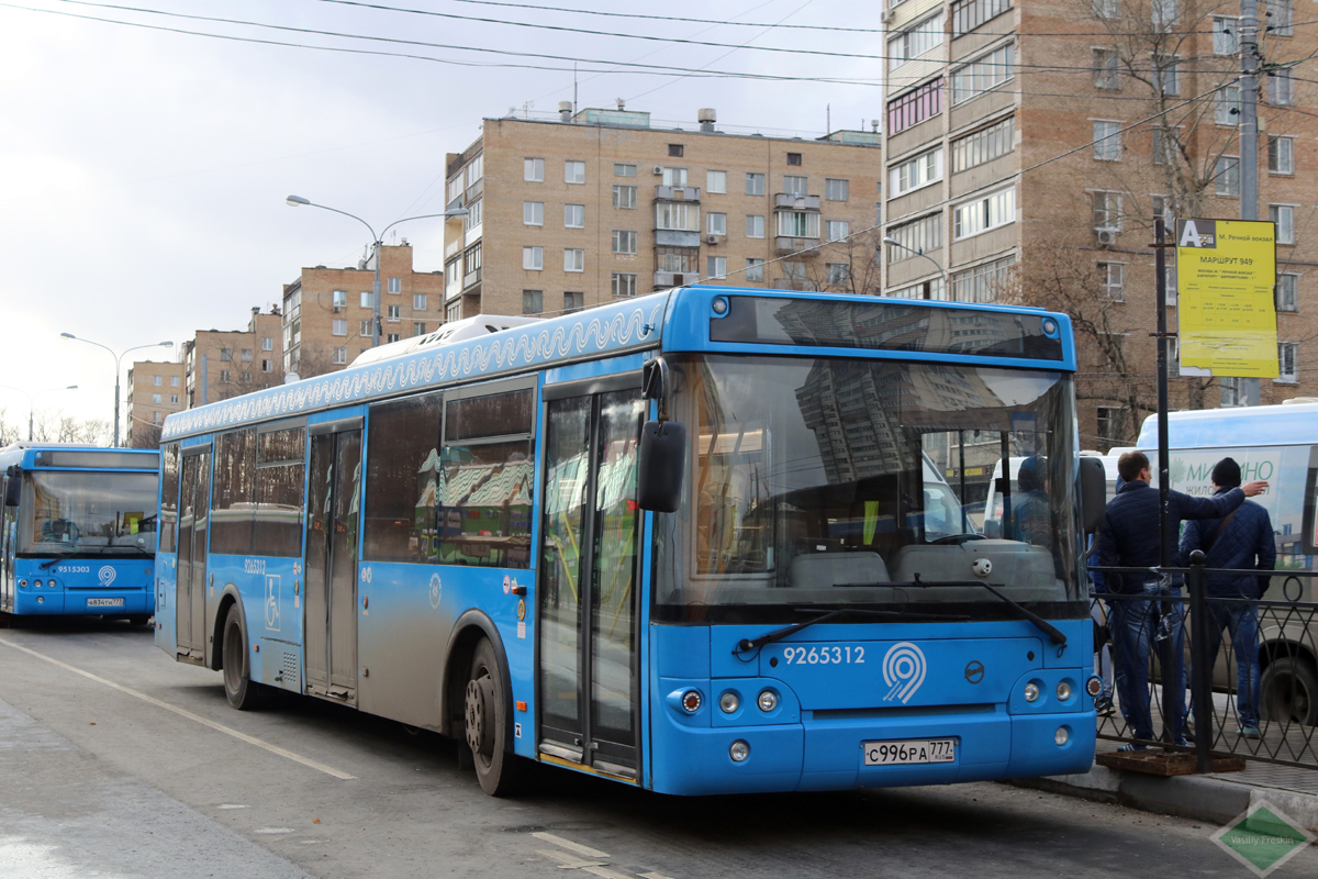Moscow, ЛиАЗ-5292.65 # 9265312