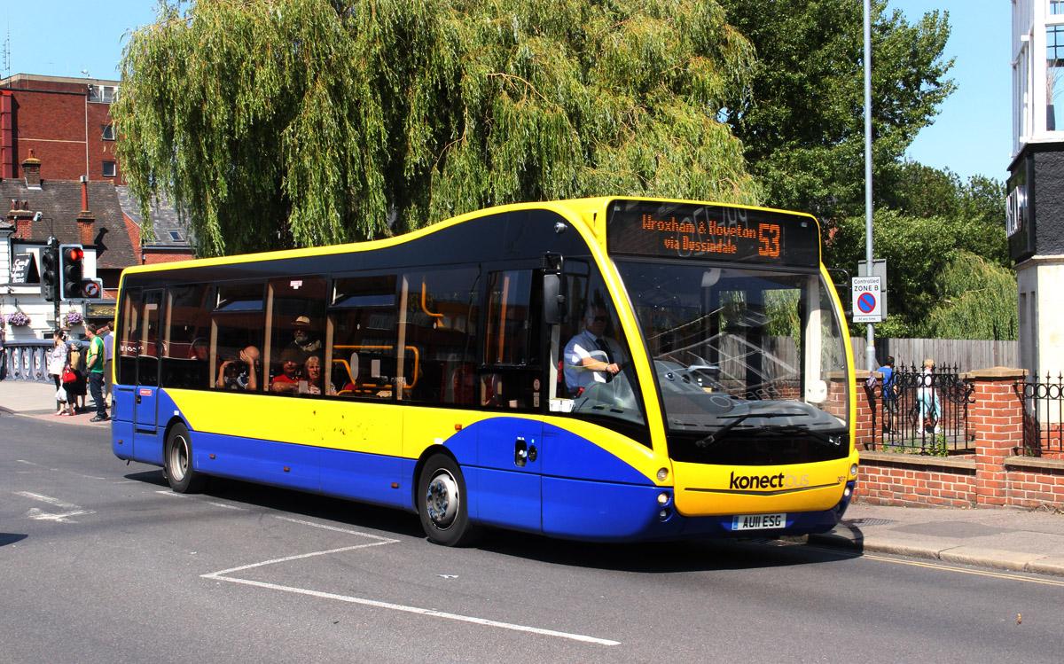 Norwich, Optare Versa # 307