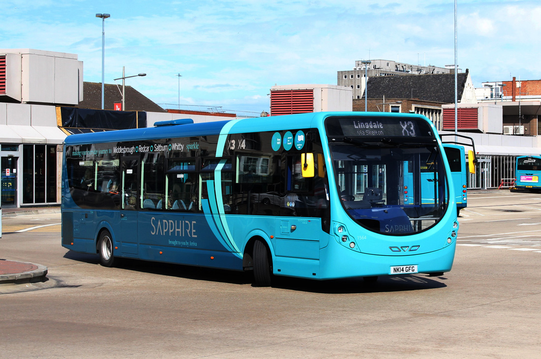 Middlesbrough, Wright StreetLite DF # 1564