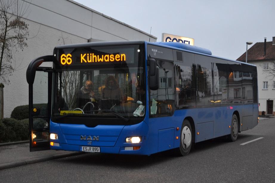Esslingen am Neckar, MAN A47 Lion's City M NL283-10,5 # 890