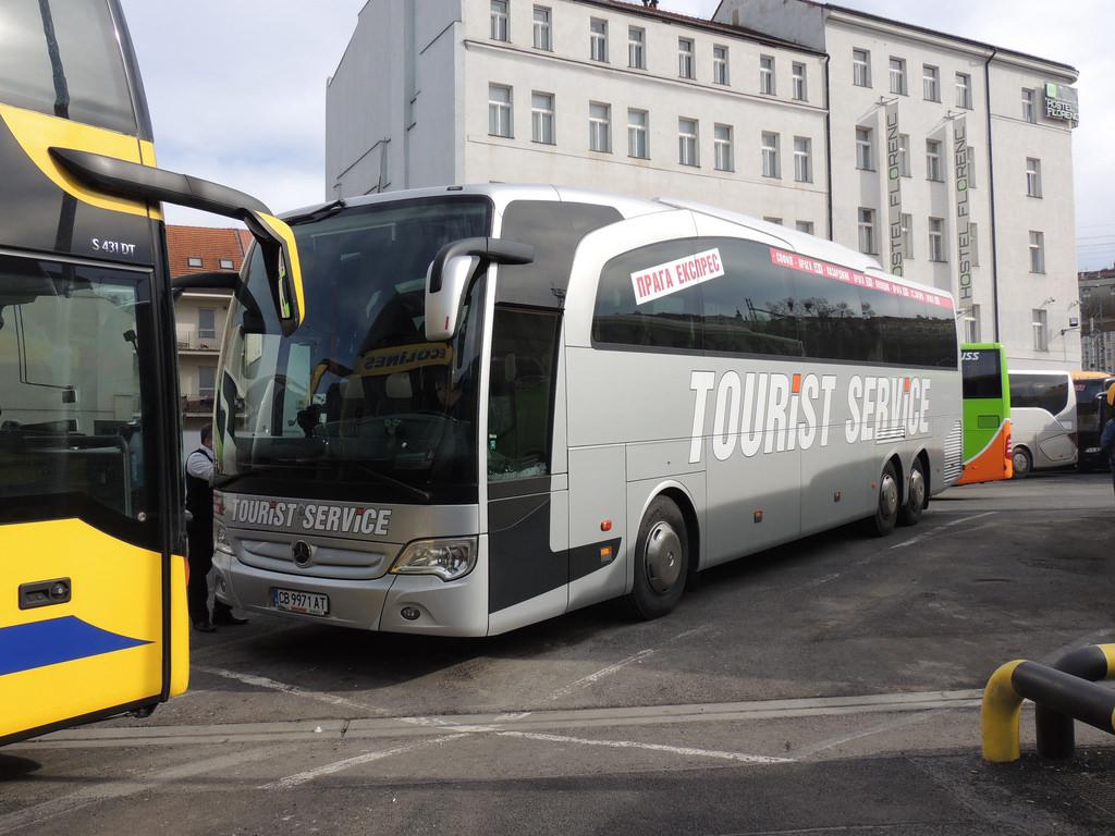 Sofia, Mercedes-Benz O580-16RHD Travego M # СВ 9971 АТ