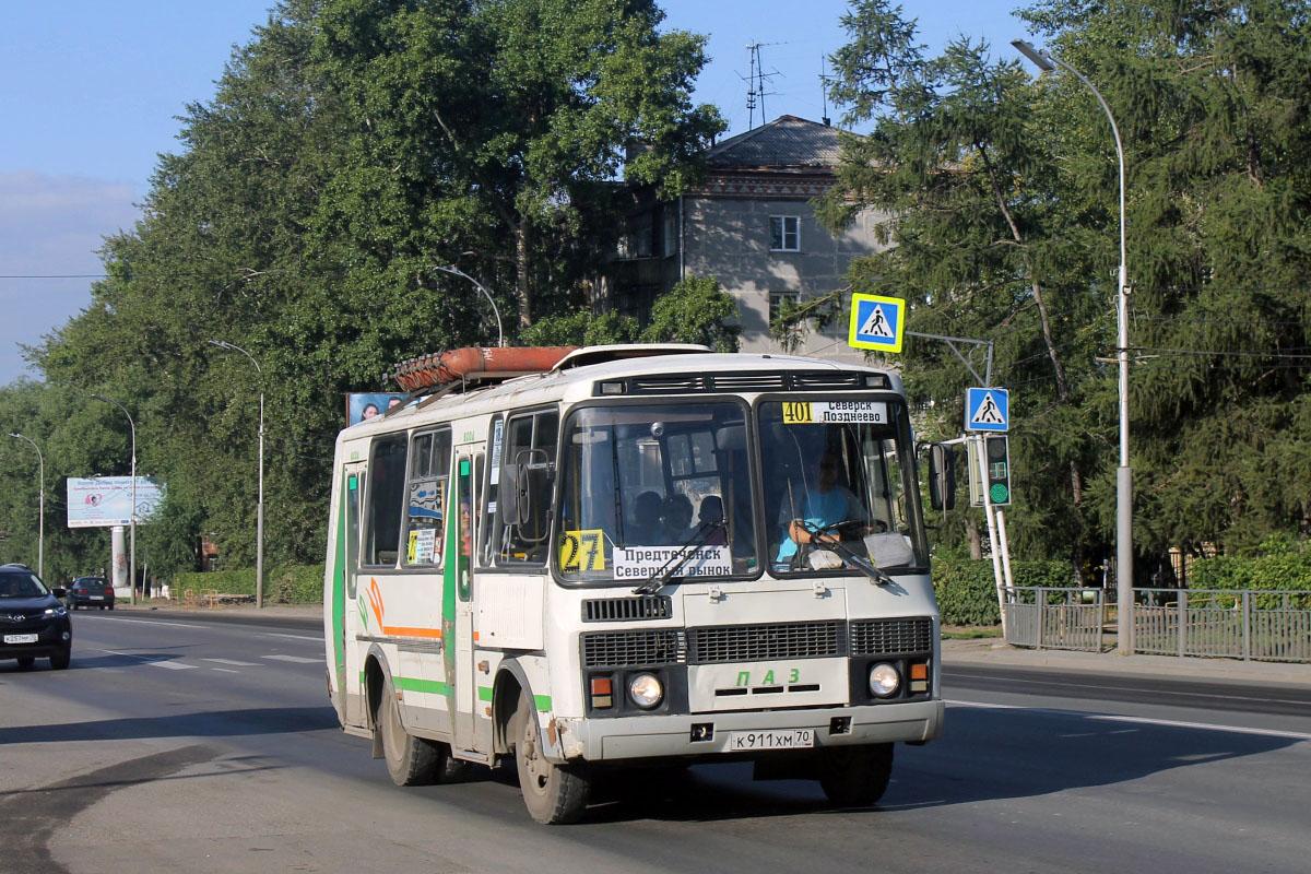 Tomsk, PAZ-32054 # К 911 ХМ 70