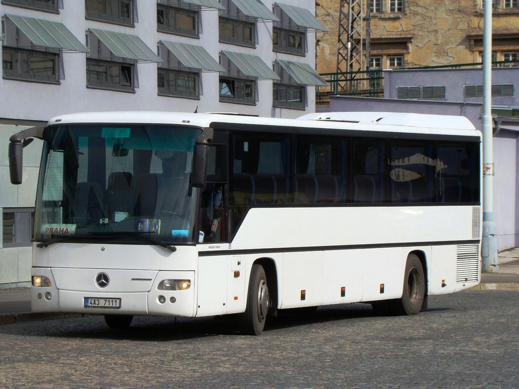 Prague, Mercedes-Benz O560 Intouro I RH # 4A3 7111
