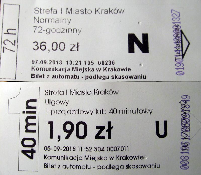 Kraków — Tickets