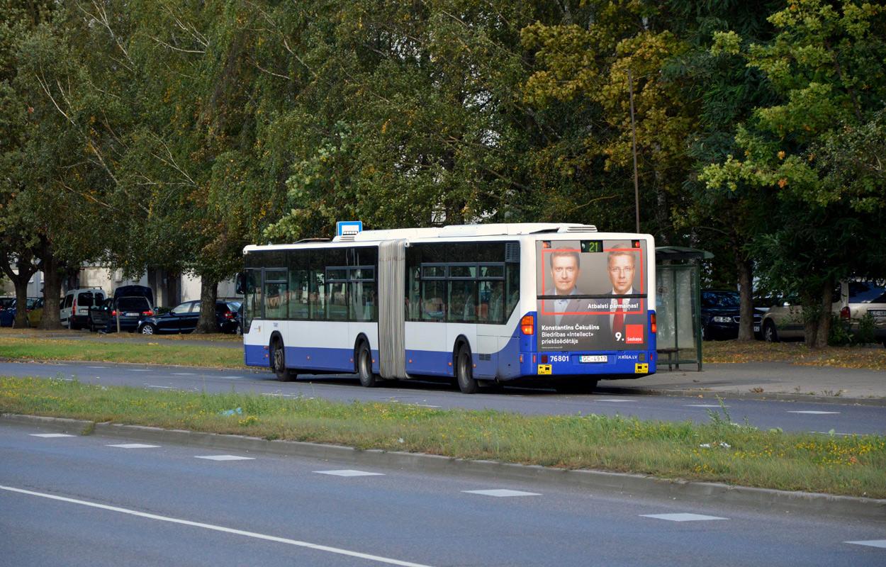 Riga, Mercedes-Benz O530 Citaro G # 76801