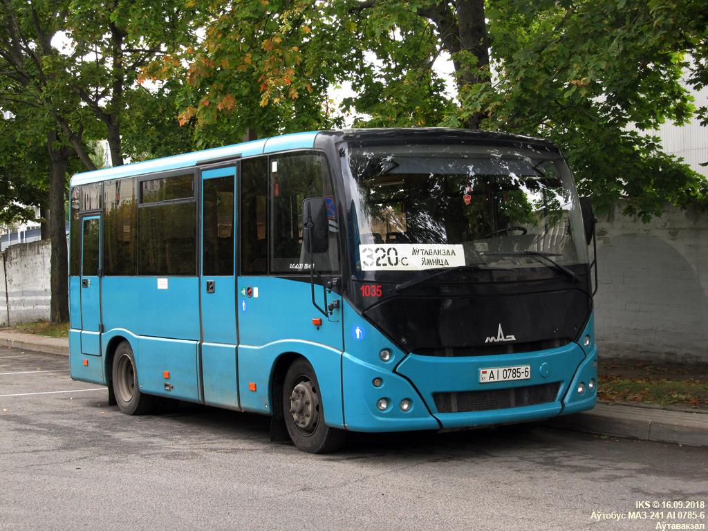 Mogilev, MAZ-241.030 # 1035