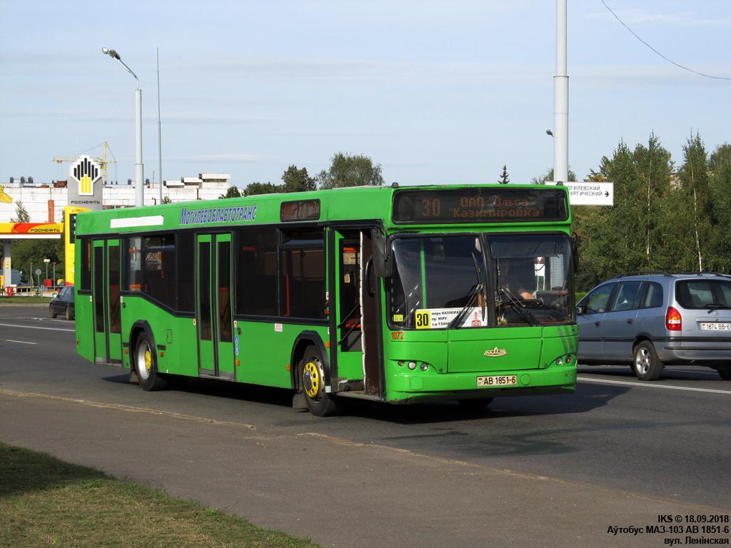 Mogilev, MAZ-103.465 # 1072