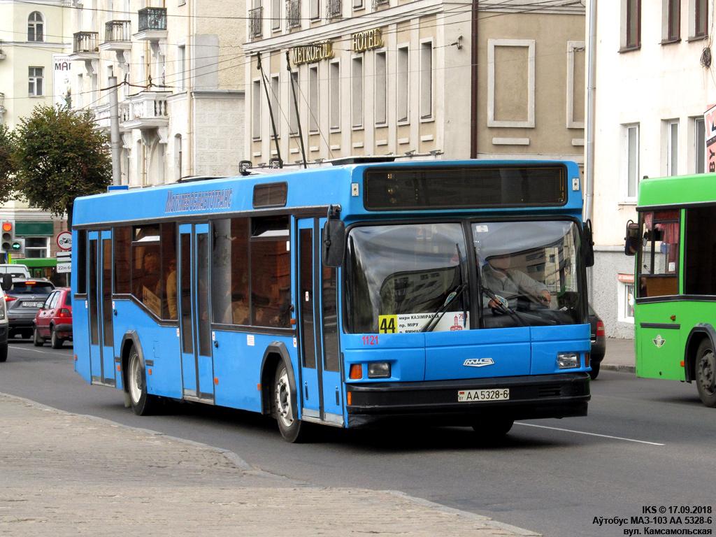 Mogilev, MAZ-103.065 # 1121
