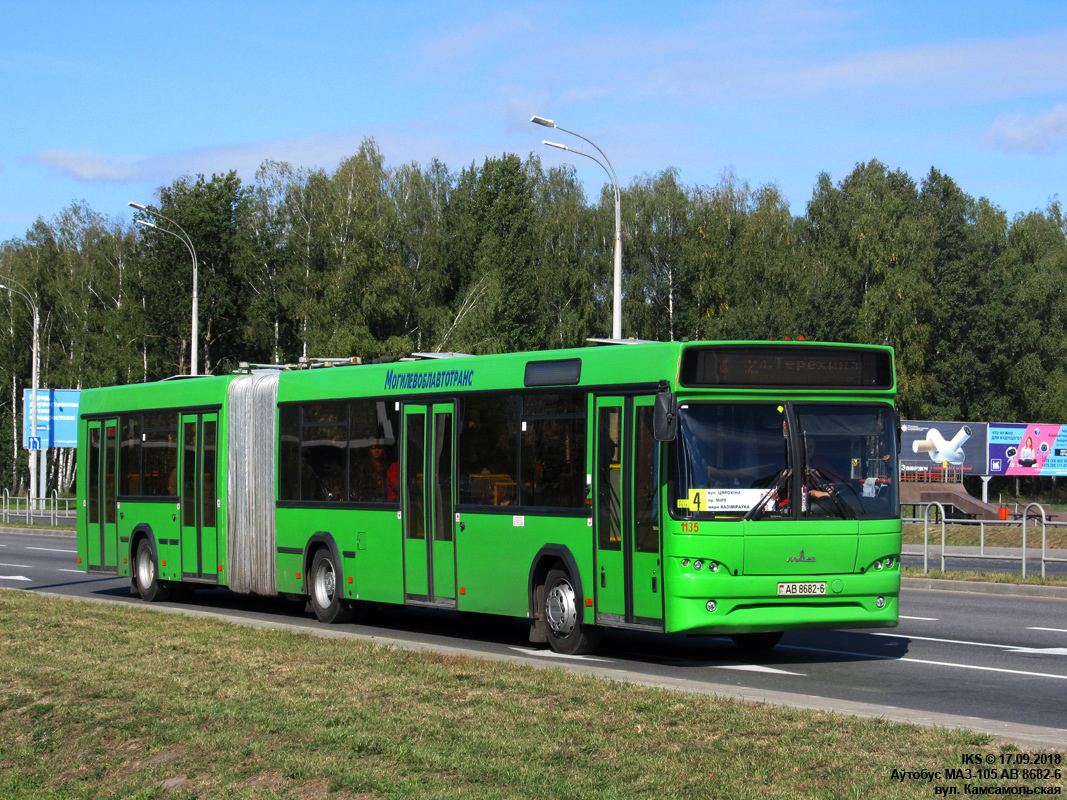 Mogilev, MAZ-105.465 # 1135