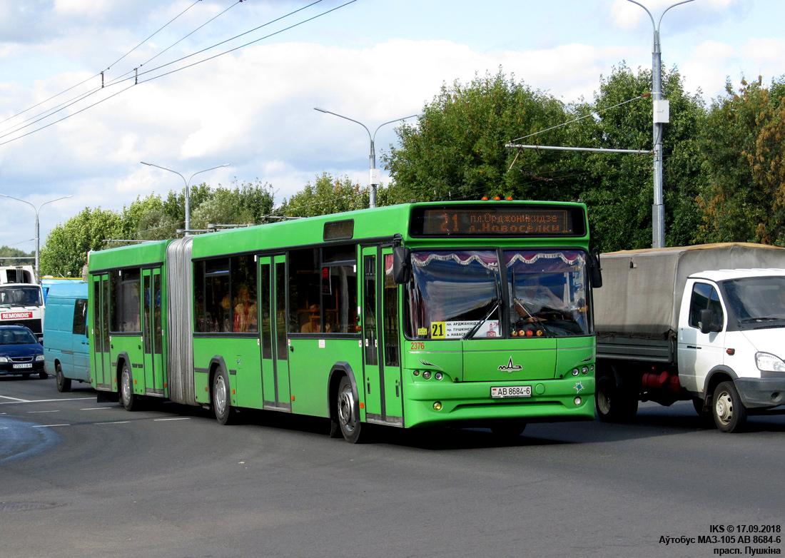 Mogilev, MAZ-105.465 # 2376