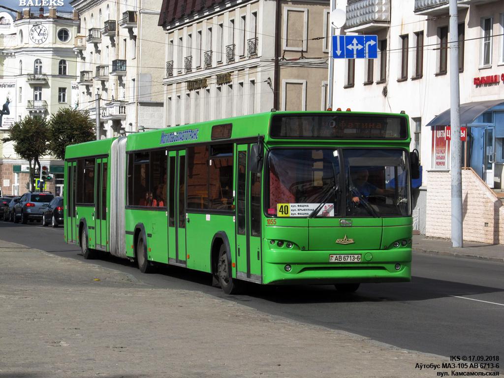 Mogilev, MAZ-105.465 # 1055