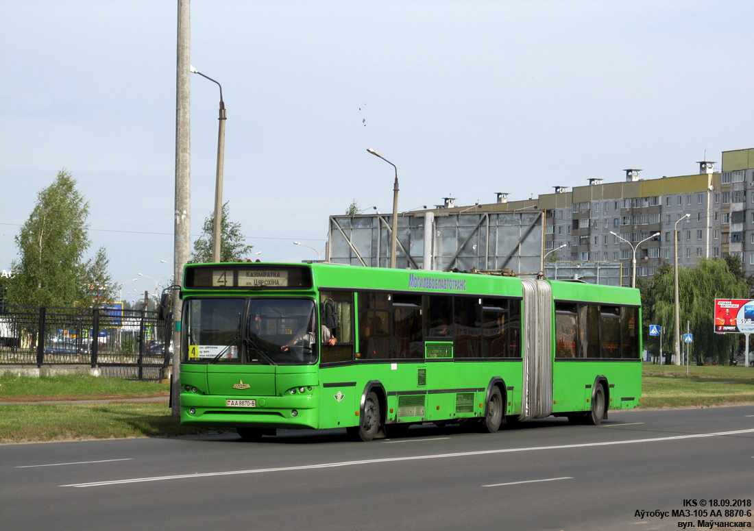 Mogilev, MAZ-105.465 # 1139