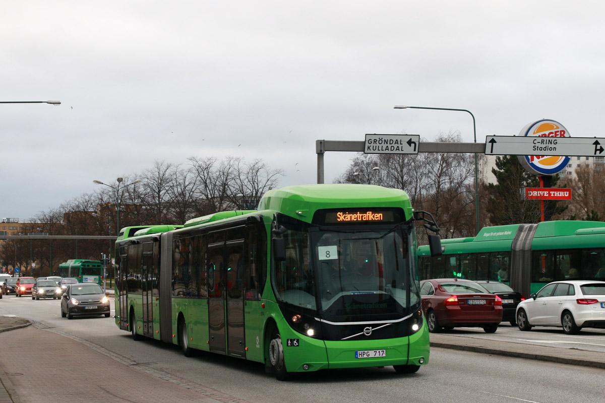 Malmö, Volvo 7900 BRT # 1004
