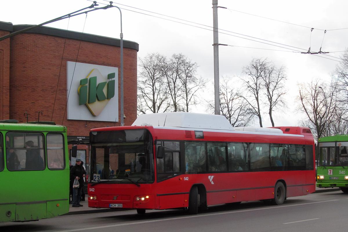 Kaunas, Volvo 7700 CNG # 542