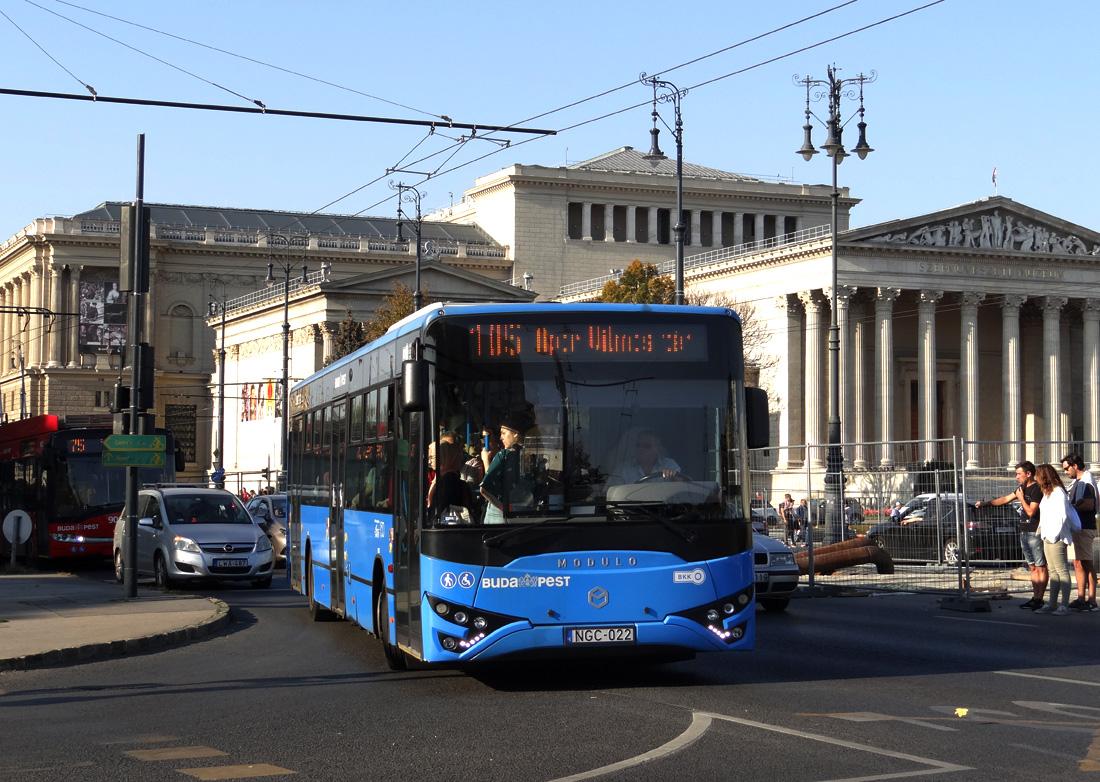 Budapest, MABI Modulo M108D # NGC-022; Budapest — ...
