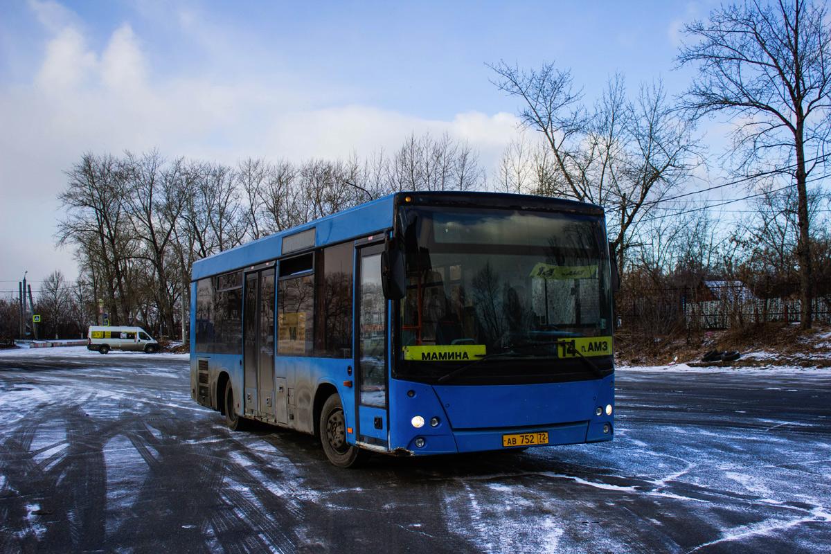 Chelyabinsk, MAZ-206.060 # АВ 752 72