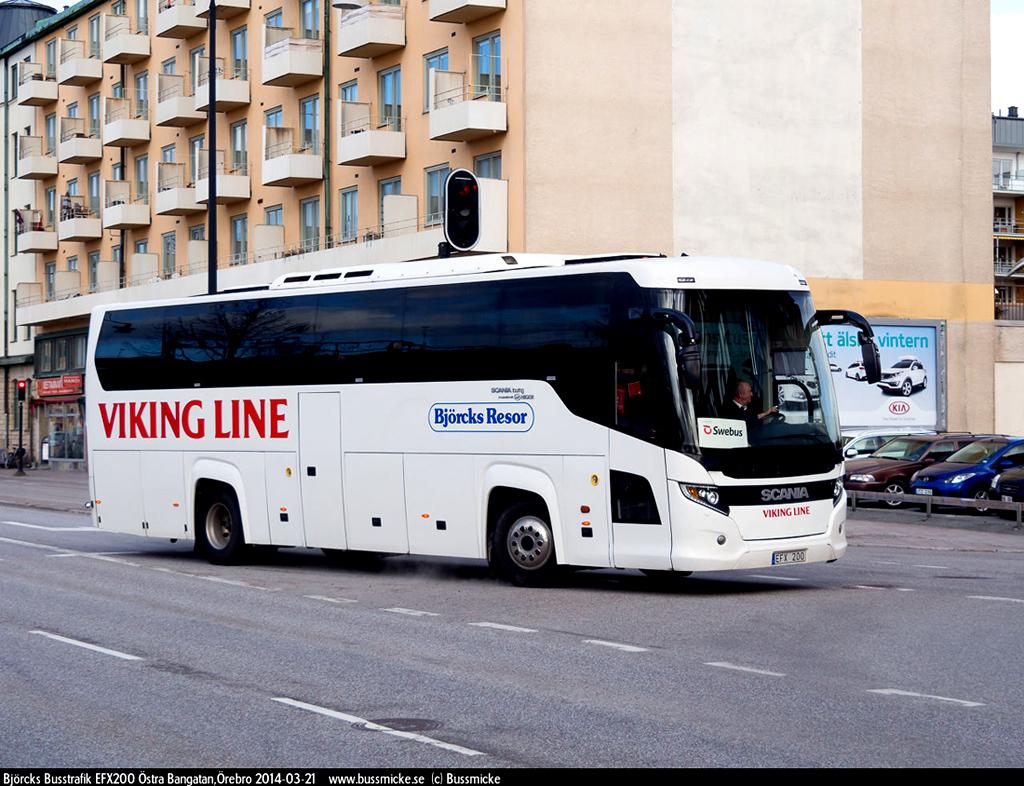 Södertälje, Scania Touring HD (Higer A80T) # EFX 200