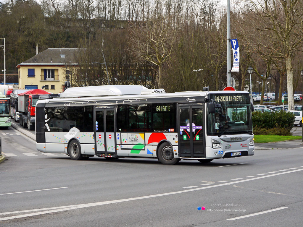 Meaux, IVECO Urbanway 12M CNG # 71940