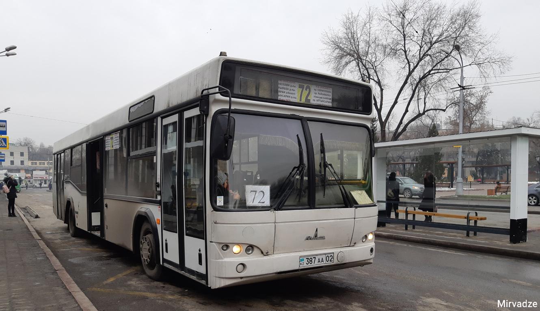 Almaty, MAZ-103.465 # 387 AA 02