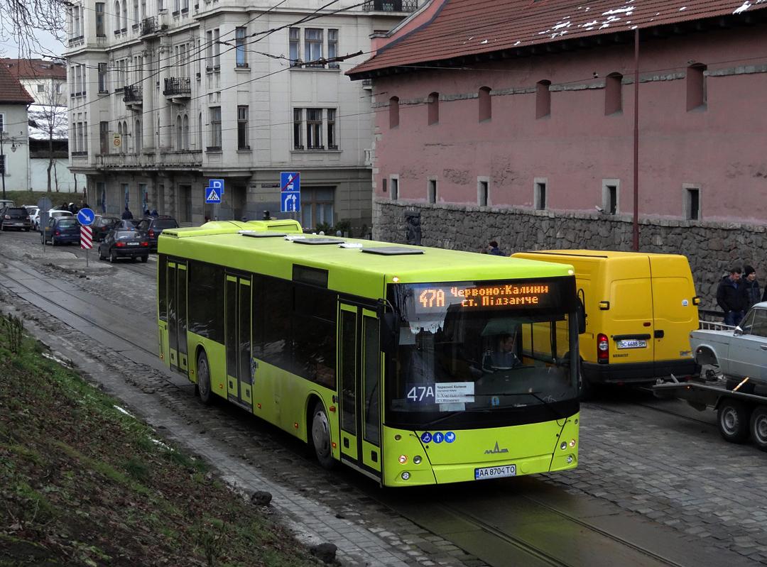 Lviv, MAZ-203.069 # АА 8704 ТО