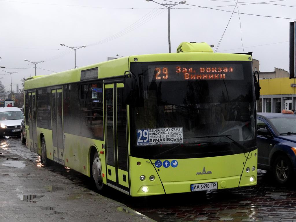 Lviv, MAZ-203.069 # АА 6498 ТР