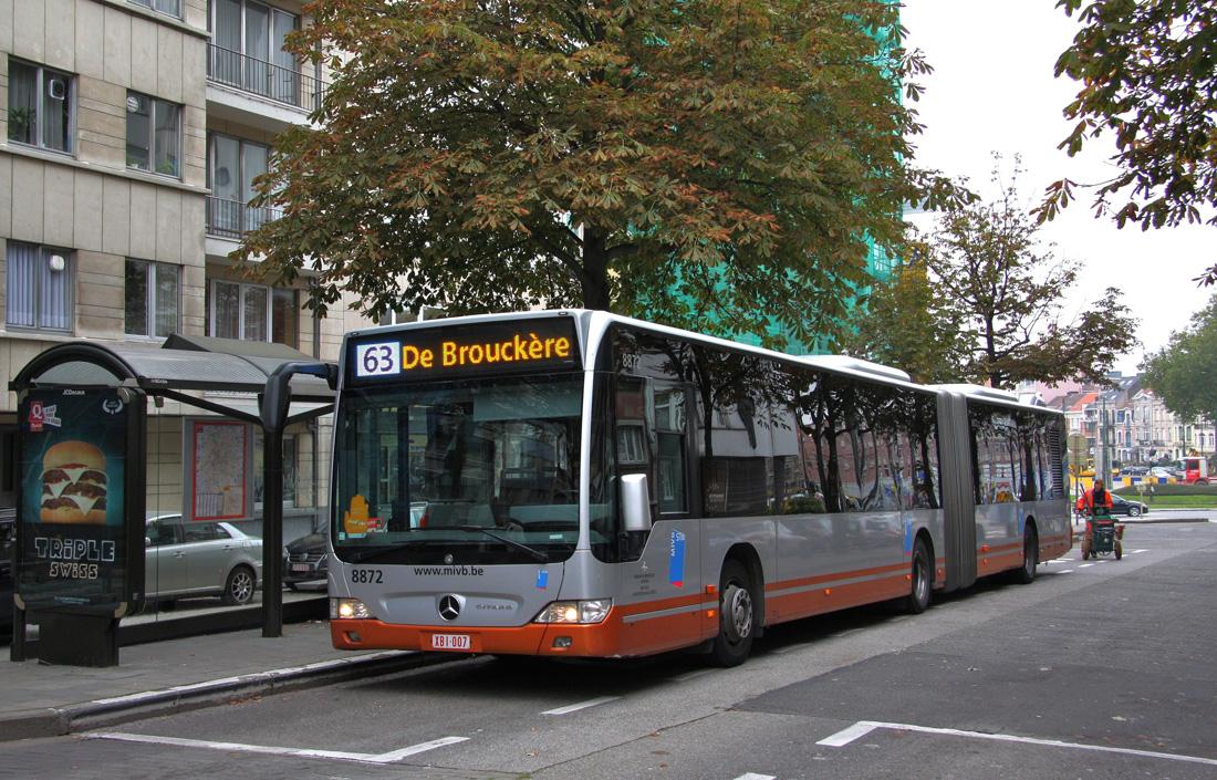 Brussels, Mercedes-Benz O530 Citaro G # 8872