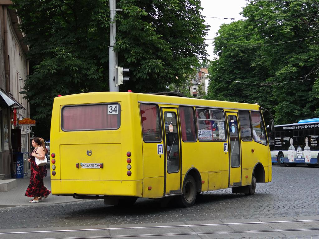 Lviv, Bogdan A09202 (LuAZ) # ВС 6320 СМ
