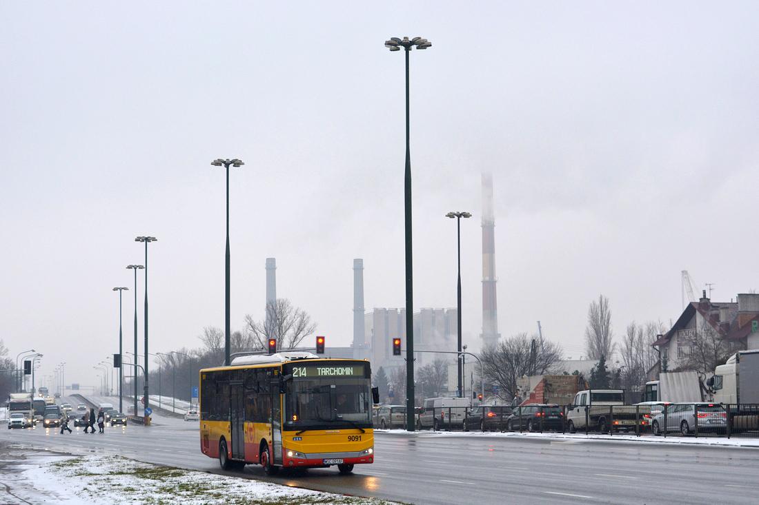 Warsaw, Otokar Vectio C # 9091