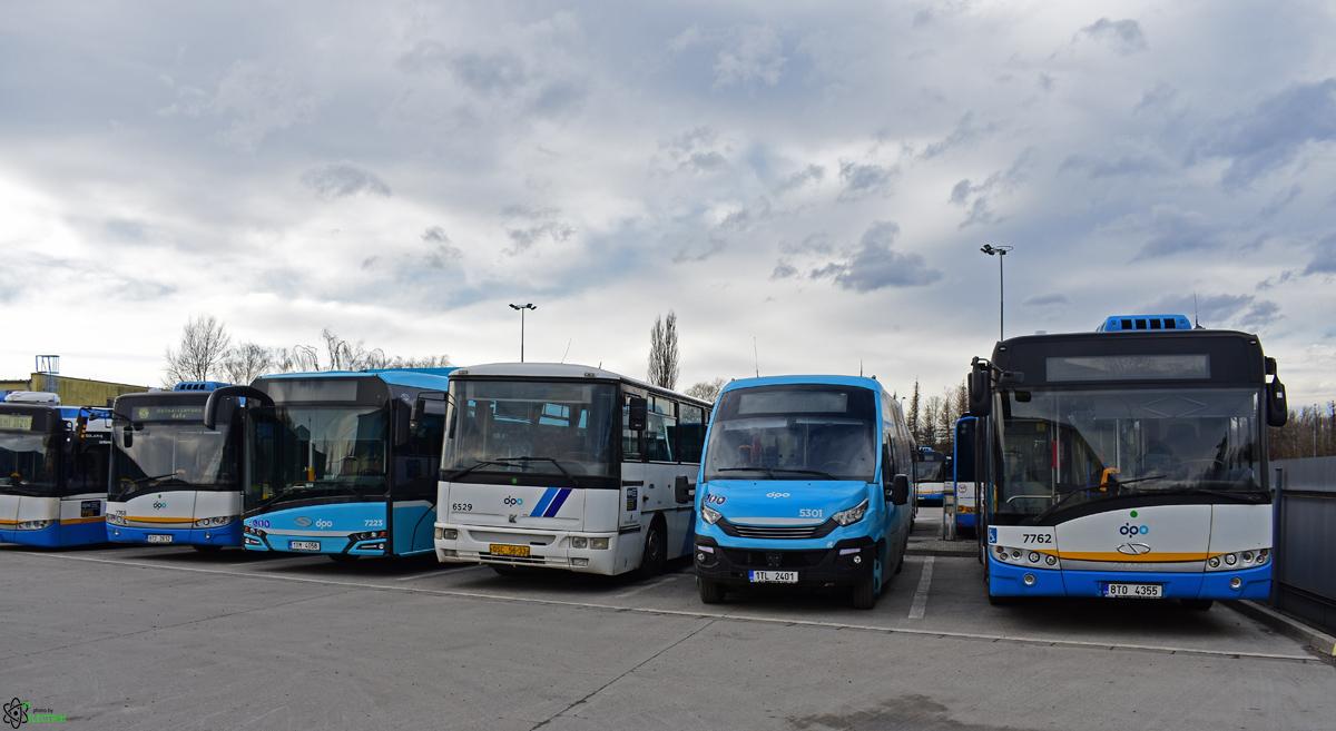 Ostrava, Solaris Urbino III 12 # 7762; Ostrava, Rošero-P First FCLLI # 5301