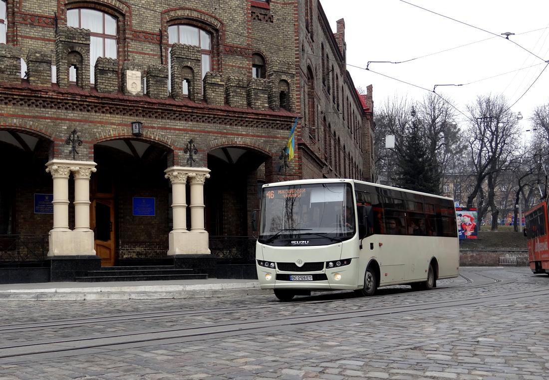 Lviv, Ataman A092H6 # ВС 2128 ЕТ