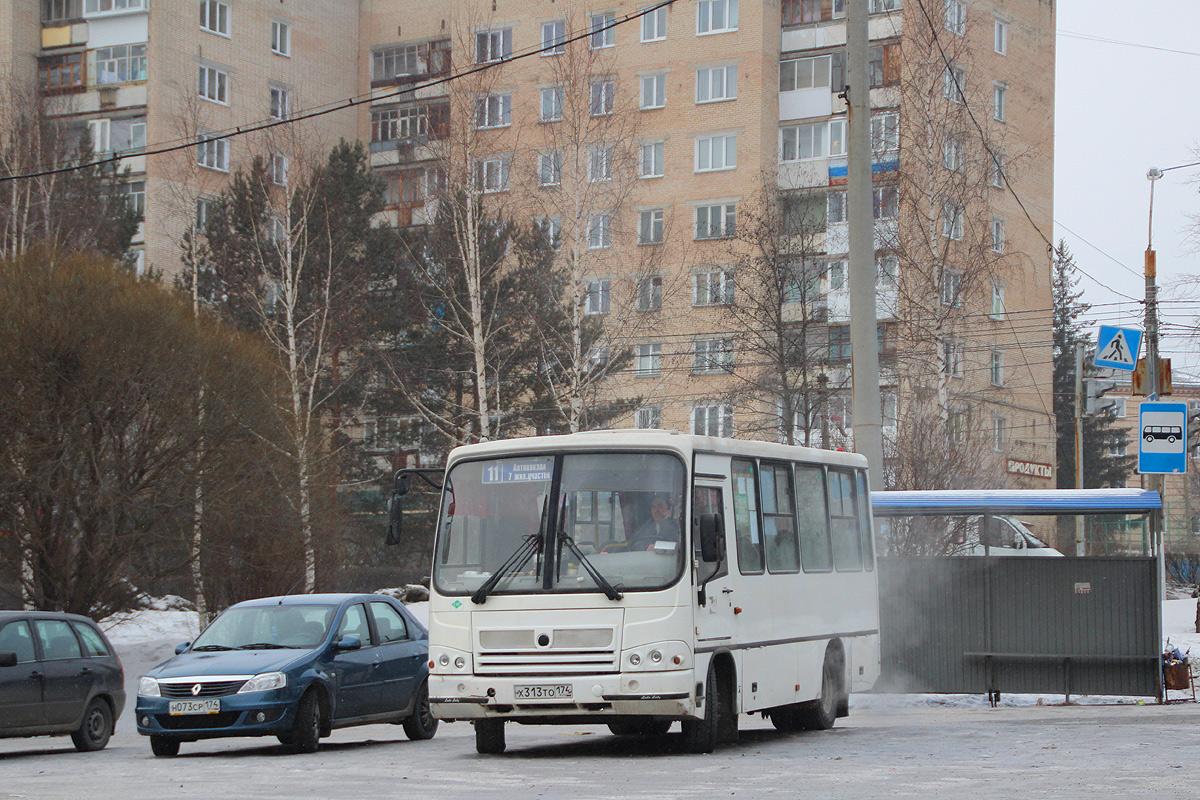 Zlatoust, ПАЗ-320302-11 (32032M) # Х 313 ТО 174