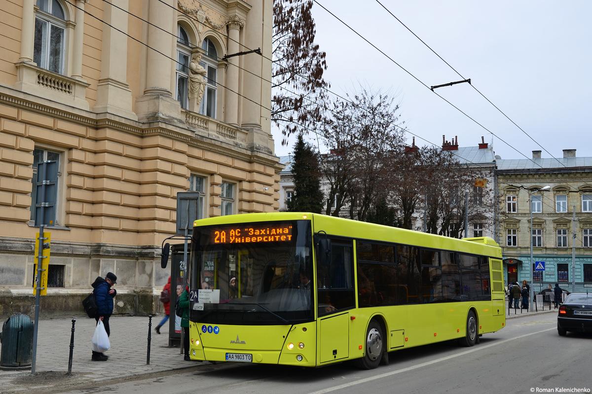 Lviv, MAZ-203.069 # АА 9803 ТО