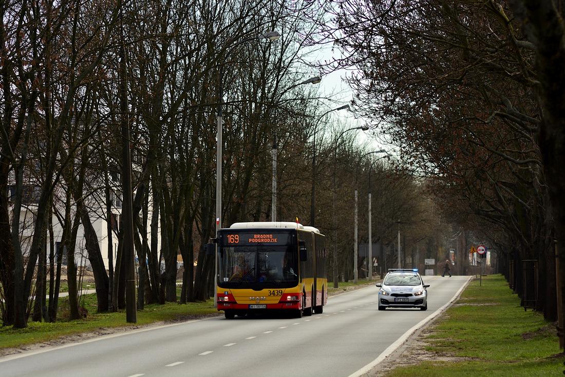Warsaw, MAN A23 Lion's City G NG363 # 3439