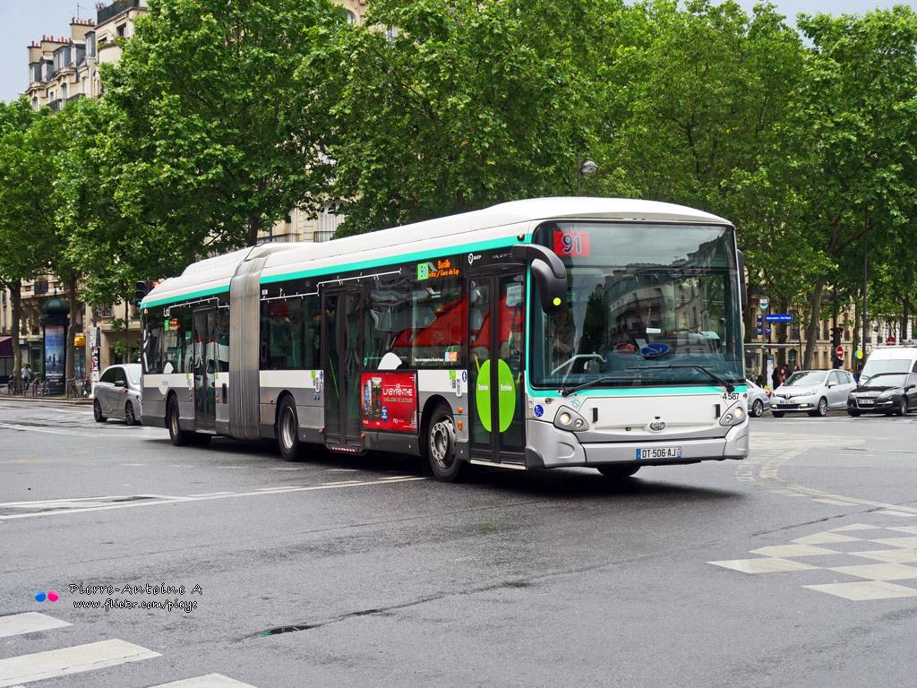 Paris, Heuliez GX437 HYB # 4587