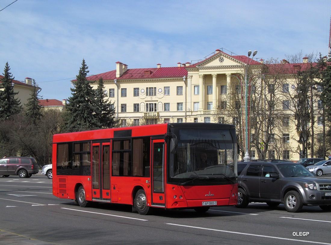 Minsk, MAZ-206.*** # АР 0865-7