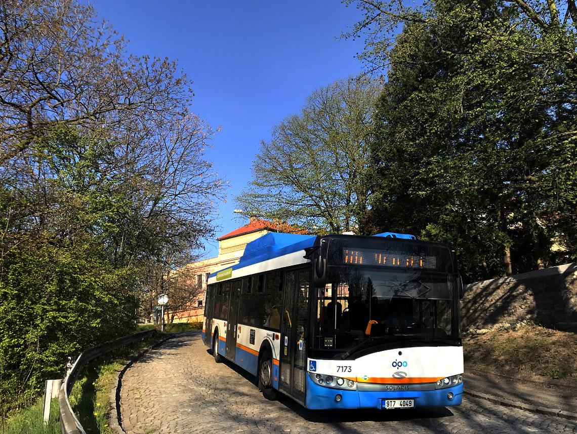 Ostrava, Solaris Urbino III 12 CNG # 7173