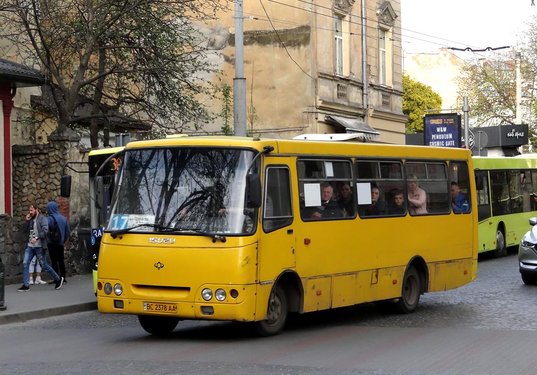 Lviv, Bogdan А09202 # ВС 2378 АА