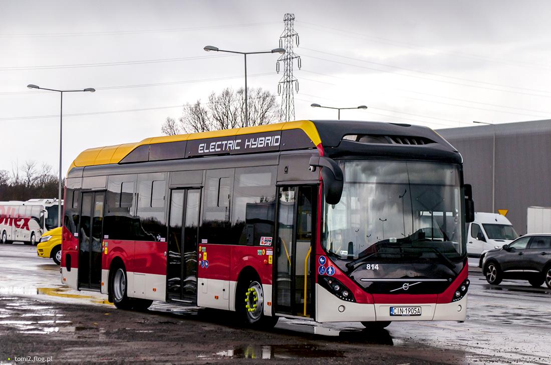 Inowrocław, Volvo 7900 Electric Hybrid # 814