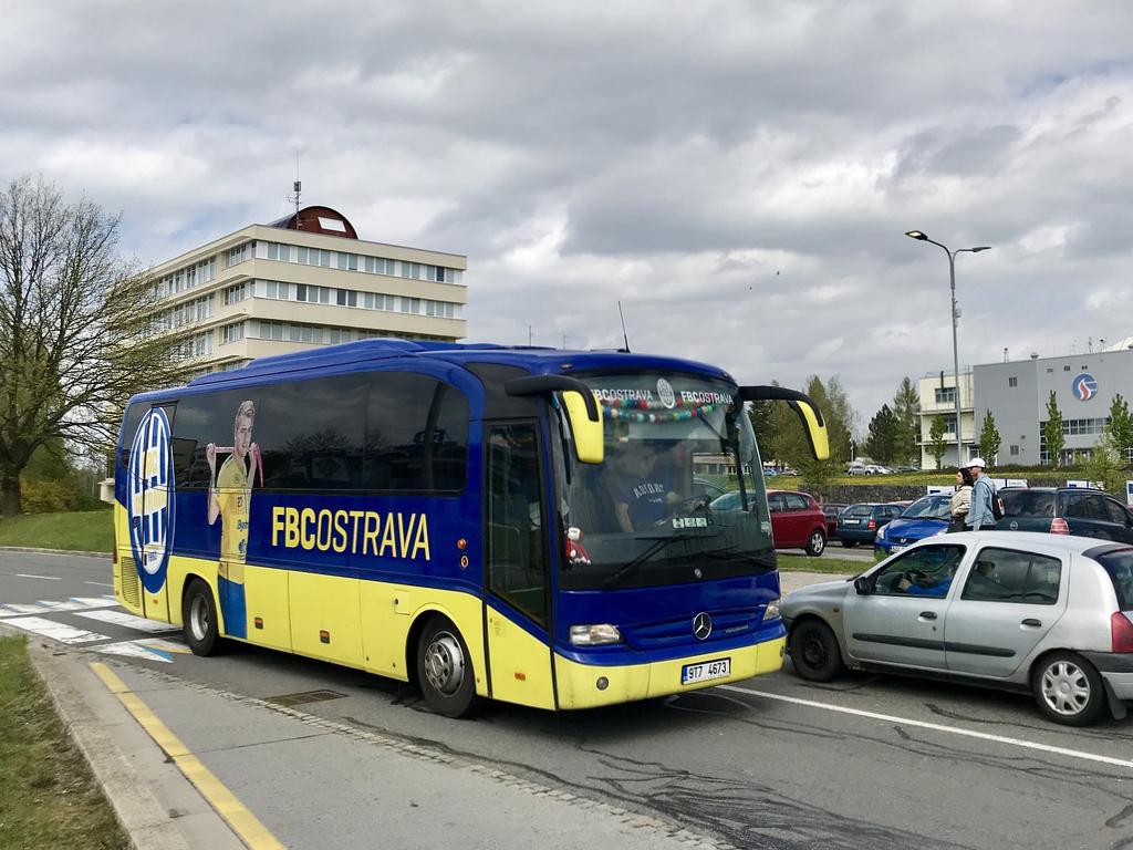 Ostrava, Mercedes-Benz O510 Tourino # 9T7 4673