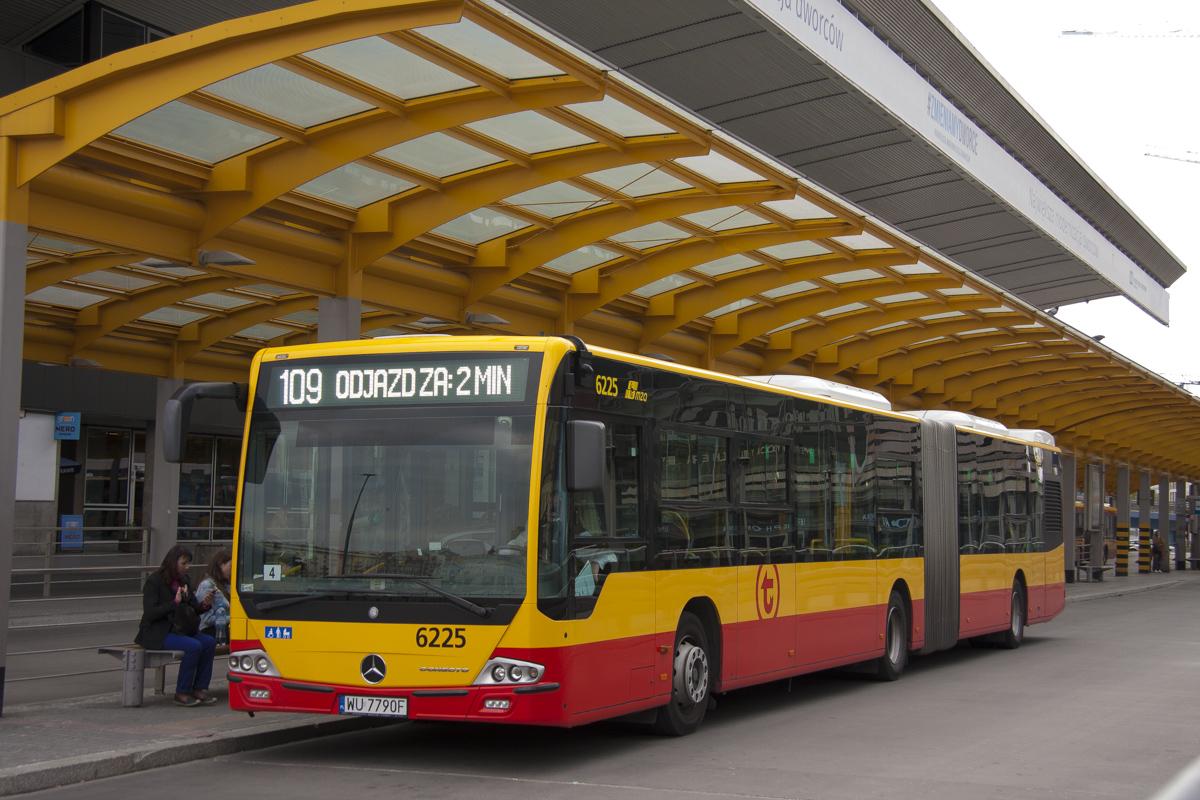 Warsaw, Mercedes-Benz Conecto LF G # 6225