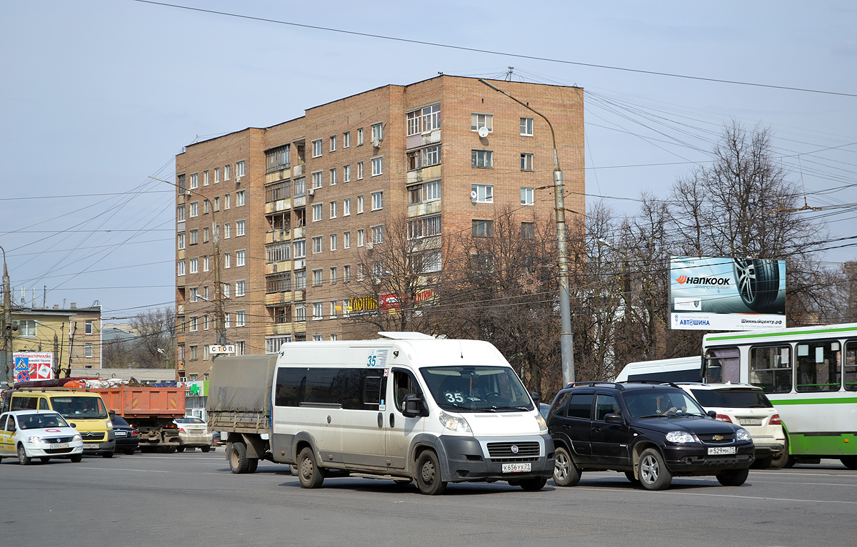 Tula, Nigegorodec-FST613 (FIAT Ducato Maxi) # К 656 УХ 71