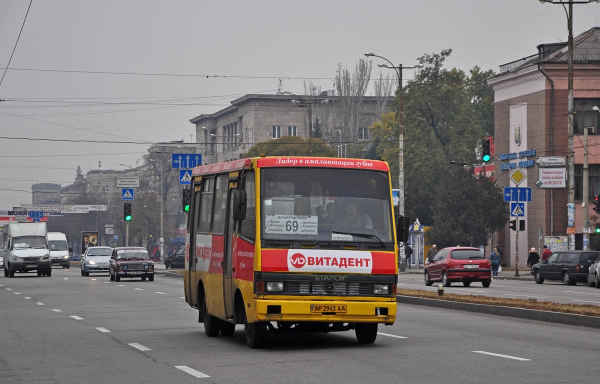 """Zaporozhe, BAZ-А079.04 """"Эталон"""" # АР 2943 АА"""