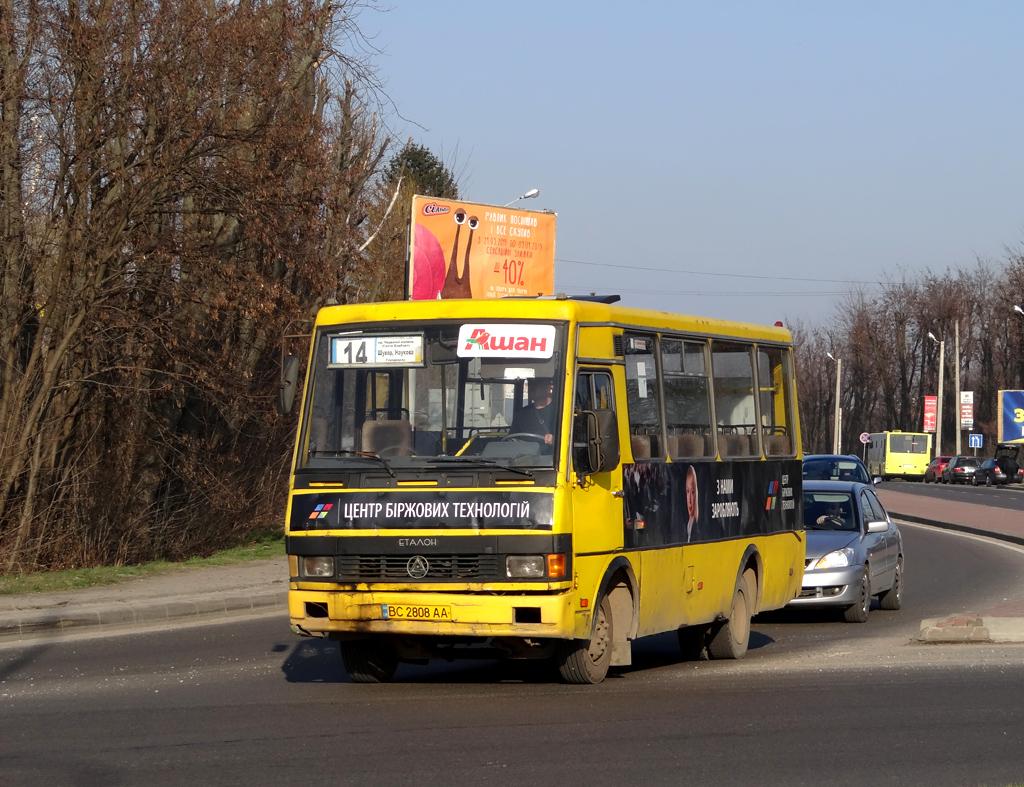 """Lviv, BAZ-А079.14 """"Эталон"""" # ВС 2808 АА"""